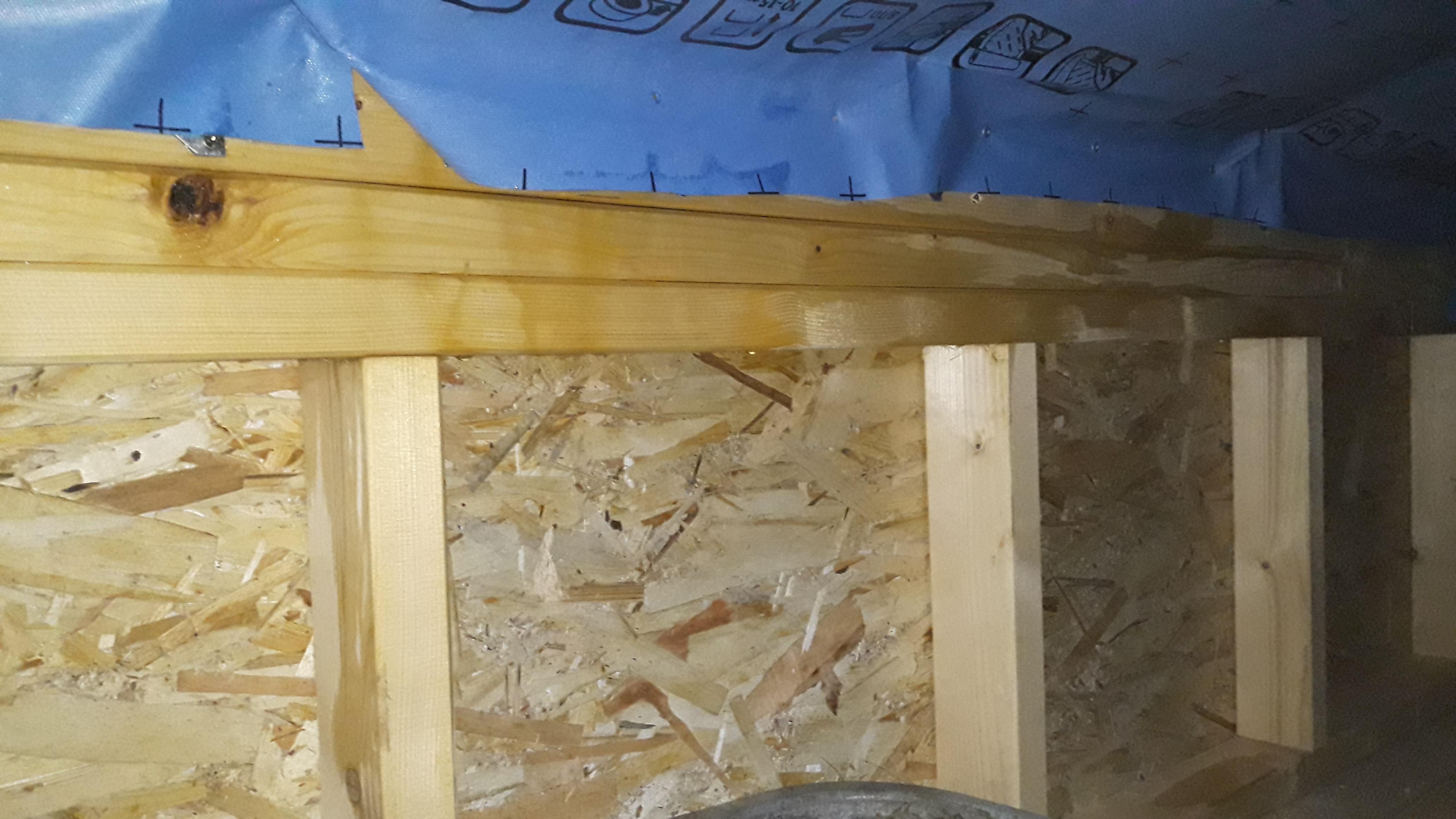 Проблеми с мембраната на покрива и теч