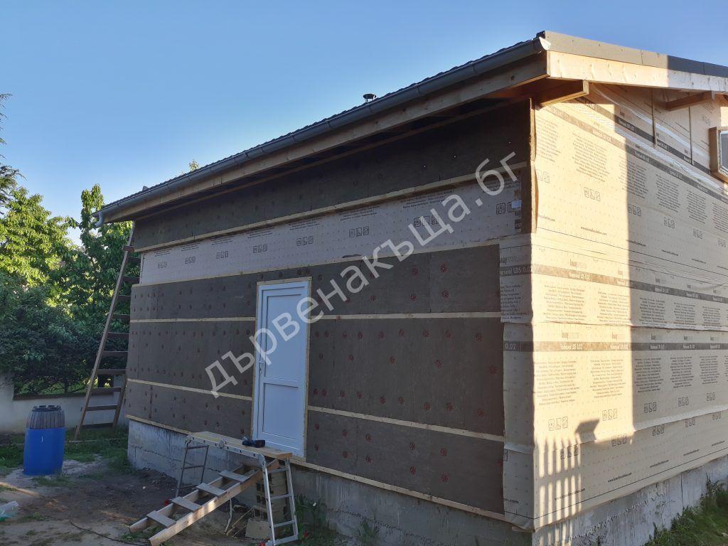 Външна изолация на първия етаж