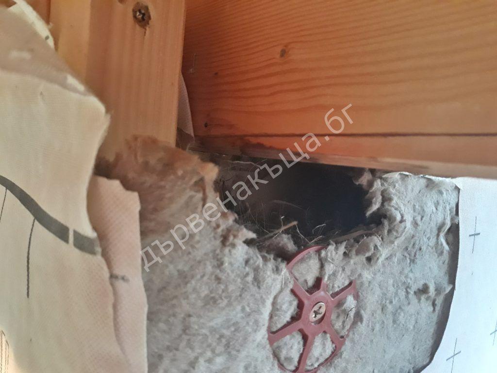 Гнездо в стената