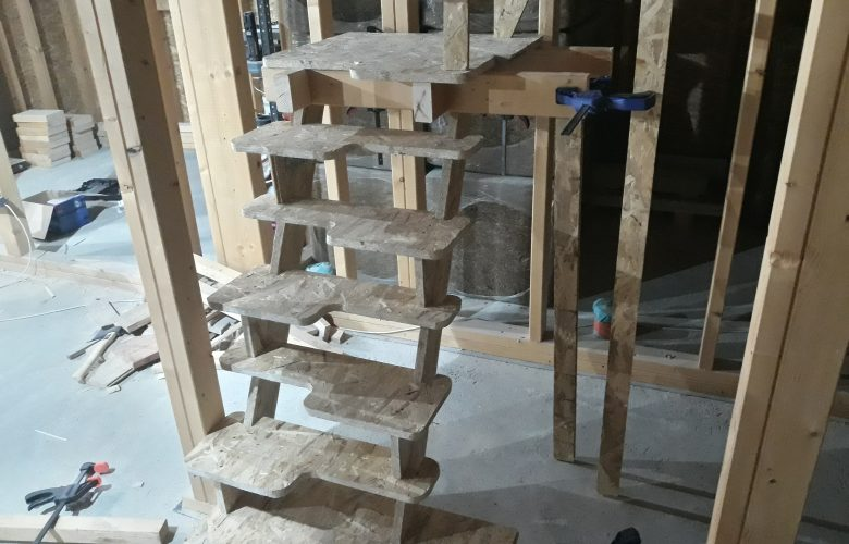Експерименти със стълбите