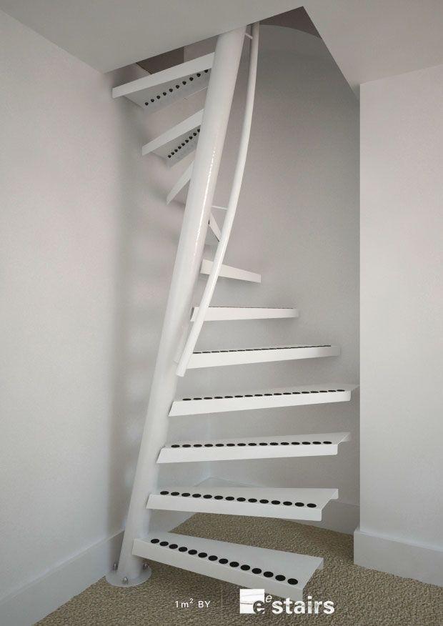 Вита наклонена стълба
