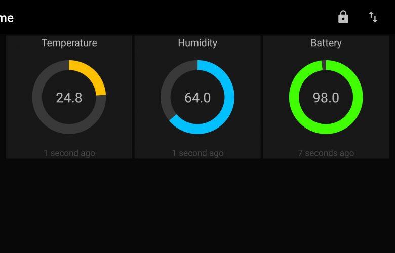 Измерване на температура и влажност в къщата